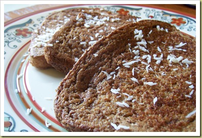 Gingerbread French Toast 2