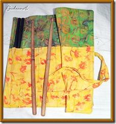 150 Stick-Tasche offen