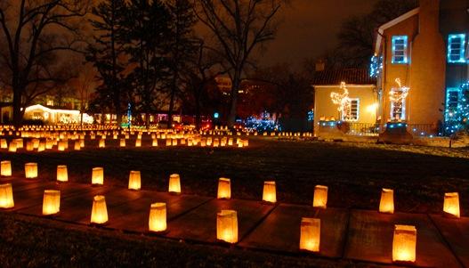 luminaria front yard