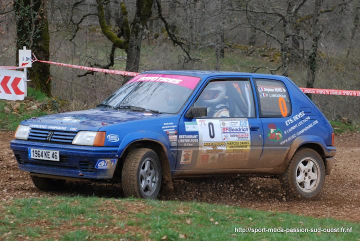 Stéphane DEVEZ / Rémi LAMOUROUX - 205 Rallye FA5 Rallye%20Terre%20des%20Causses%202010%20044