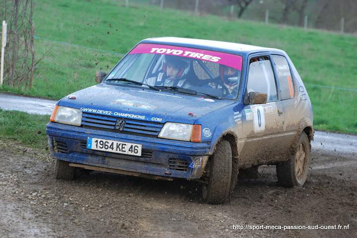 Stéphane DEVEZ / Rémi LAMOUROUX - 205 Rallye FA5 Rallye%20Terre%20des%20Causses%202010%20588