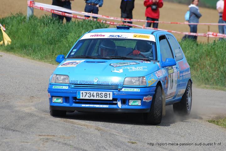 Max BENAZECH / Mathieu FAVREAU - Clio 16S FA7 Rallye%20du%20Frontonnais%202010%20277