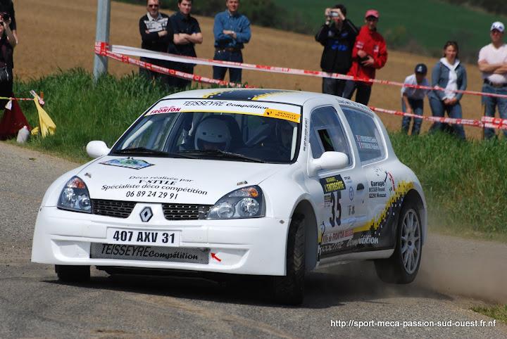 Cédric TEISSEYRE / Valérie TIRBOIS - Clio RS F214 Rallye%20du%20Frontonnais%202010%20301