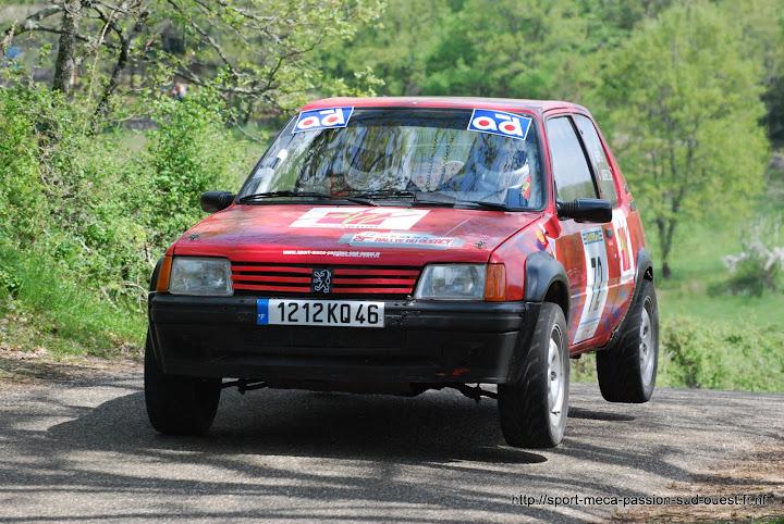 Fabien BEL / David LABORIE - 205 GTI F2/13 Rallye%20du%20Quercy%202010%20330
