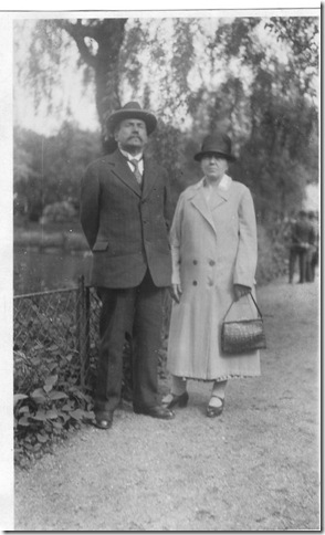 Danie BArtelsl and Maria Korbach Bartels