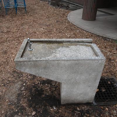 水飲み場:井の頭自然文化園