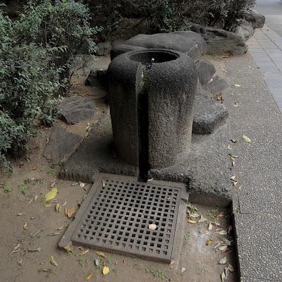 水飲み場:六本木西公園