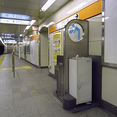 水飲み場:上野広小路