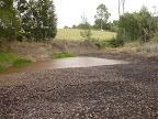 Bottom dam before the rains
