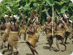312-459~Yali-People-Dancing-at-a-Ceremony-Membegan-Irian-Jaya-New-Guinea-Indonesia-Posters