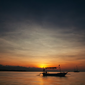 Anchor by Rah Juan - Transportation Boats ( sunset, rah juan, beach, boat, bali natural photoworks,  )