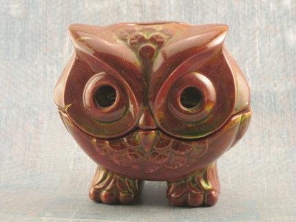 owl candel holder