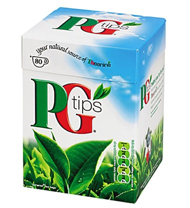 PG Tips box