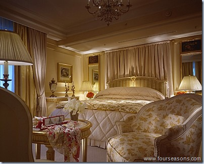 honeymoon suite 4seasons georges v paris