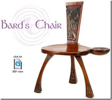 bards chair - irishfurniturecom