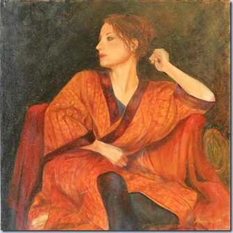 October---Woman-in-Orange