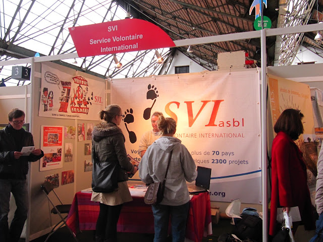 le svi au salon du tourisme thique  bruxelles , tour et taxi, 2010