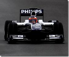 Barrichello con la Williams