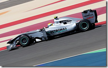 Rosberg su Mercedes