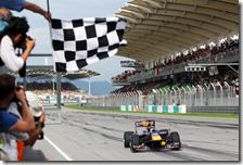 Vettel vince il gran premio della Malesia