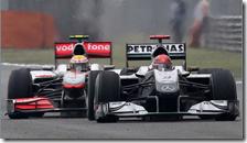 Il duello tra Schumacher e Hamilton