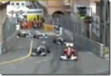 Il sorpasso di Schumacher ad Alonso a Montecarlo
