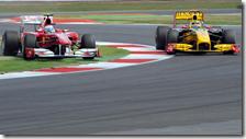Alonso super Kubica