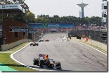 Le Red Bull hanno dominato il gran premio del Brasile 2010