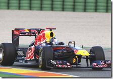 Vettel è il più veloce nella prima giornata di test a Valencia