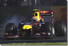 La Red Bull non ha utilizzato il KERS nel gran premio d'Australia 2011