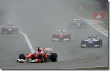 Alonso nel gran premio della Cina 2010