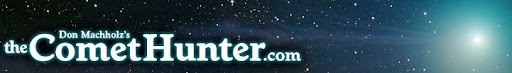 banner for Don Machholz's comet site