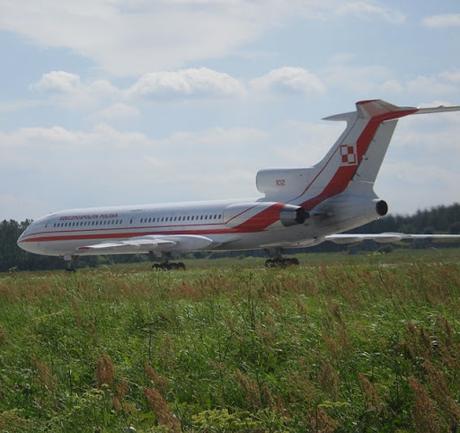 Polish Tu-154 Government transport president airplane