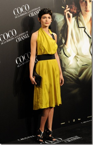 Audrey Tautou Attends Coco Madrid Premiere aaJBOf7Md4sl