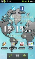 Screenshot of One World LiveWP w/ RSS Reader