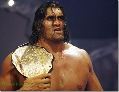 2 World Heavyweight Champion The Great Khali