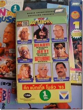 VDO VHS WWF WCW WWE 2