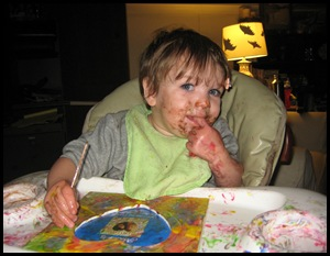Eating Paint