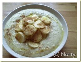 veganer Porridge