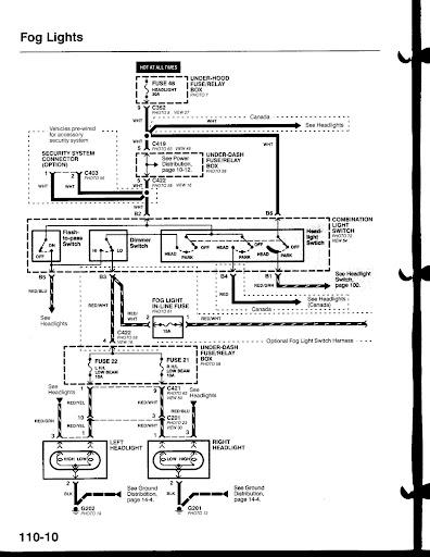 Wiring Guru U0026 39 S  Fog Light Help - Honda-tech