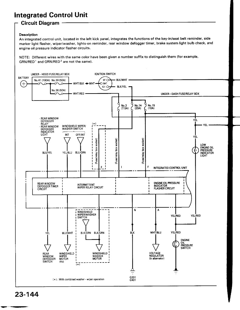 ICU Wiring diagram from 94 acura integra service manual unencrypted_Page_1 diy] oem 92 95 honda civic lights on chime retrofit (no radioshack  at n-0.co