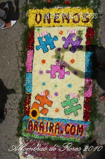 Alfombras de Flores 2010