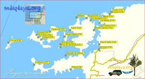 Mochima - Todas las playas cercanas al pueblo