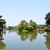 兼六園の池。