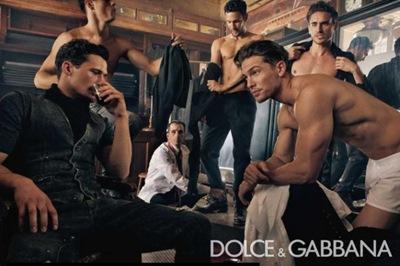Dolce & Gabbana Inverno 10-11 por Steven Klein (4)