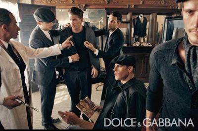 Dolce & Gabbana Inverno 10-11 por Steven Klein