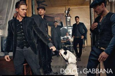 Dolce & Gabbana Inverno 10-11 por Steven Klein (5)
