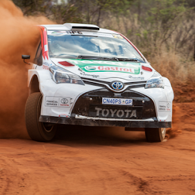 Rally 009 by Johan Niemand - Sports & Fitness Motorsports ( car, rally, dust, dirt, stage, race )