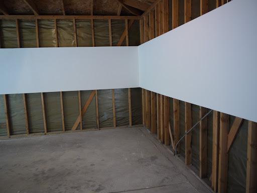 Garage installation. Photo by Cole Pierce.