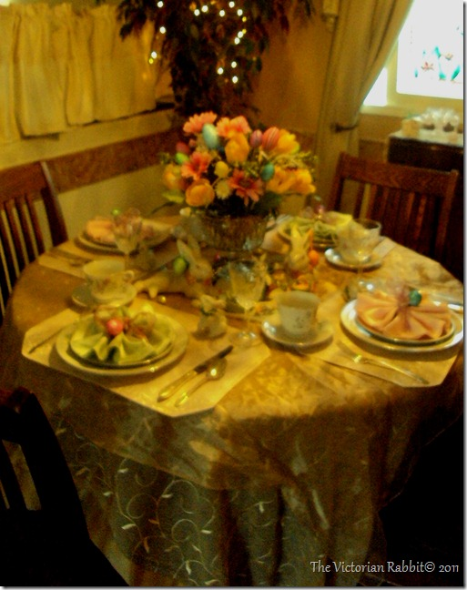 Easter table 008